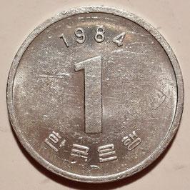 South Korea 1 Won 1983-2007 KM#31