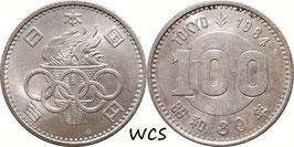 Japan 100 Yen 1964 (39) Y#79 UNC - Olympic Games