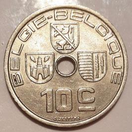 Belgium 10 Centimes 1939 BELGIE - BELGIQUE KM#113.1 XF