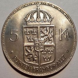 Sweden 5 Kronor 1972-1973 KM#846
