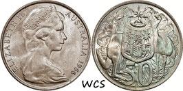 Australia 50 Cents 1966 KM#67 UNC-