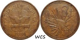pua New Guinea 2 Toea 1984 KM#2 VF