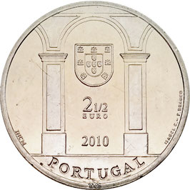 Portugal 2,50 € 2010 - Palace Square in Lisbon KM#798 UNC