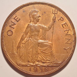 Great Britain 1 Penny 1937-1948 KM#845