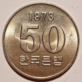 South Korea 50 Won 1972-1982 F.A.O. KM#20