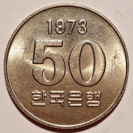 South Korea 50 Won 1972-1982 KM#20 - F.A.O.