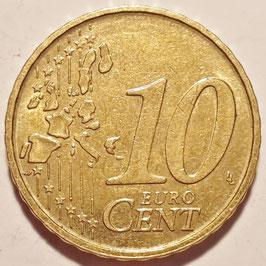 Belgium 10 Cents 1999-2006 KM#227