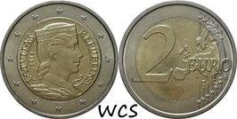 Latvia 2 Euro 2014-Date KM#157