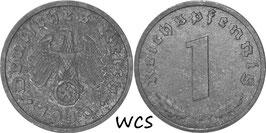 Germany - Third Reich 1 Reichspfennig 1940-1945 KM#97