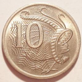Australia 10 Cents 1966-1984 KM#65