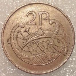 Ireland 2 Pence 1971-1988 KM#21
