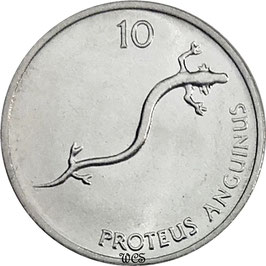 Slovenia 10 Stotinov 1992-2006 KM#7