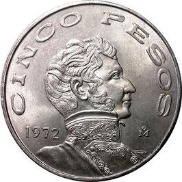 Mexico 5 Pesos 1971-1978 KM#472