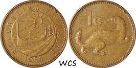 Malta 1 Cent 1986 KM#78
