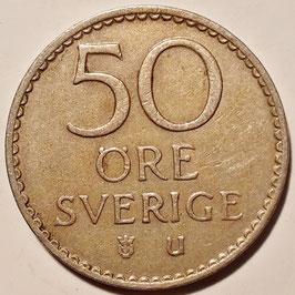 Sweden 50 Öre 1962-1973 KM#837