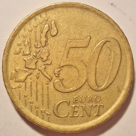 Spain 50 Cents 1999 KM#1045 VF