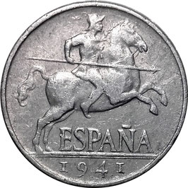 Spain 5 Centimos 1940-1953 KM#765