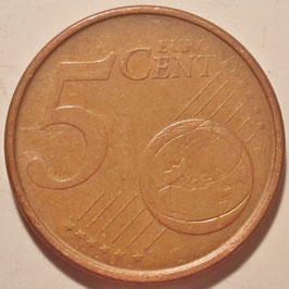 Spain 5 Cents 1999-2009 KM#1042