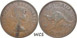 Australia 1 Penny 1956 KM#56 VF