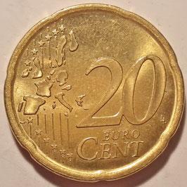 Spain 20 Cents 1999-2006 KM#1044
