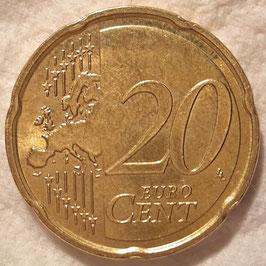 Malta 20 Cents 2008-Date KM#129