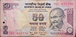 India 50 Rupees 1997 P.90f F