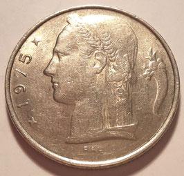 Belgium 5 Francs 1948-1981 BELGIQUE KM#134.1