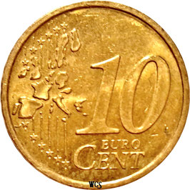 Austria 10 Cents 2002-2007 KM#3085