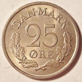 Denmark 25 Öre 1960-1967 KM#850