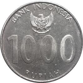 Indonesia 1000 Rupiah 2010 KM#70 XF
