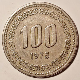 South Korea 100 Won 1970-1982 KM#9