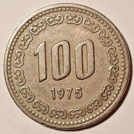 South Korea 100 Won 1970-1982 KM#9