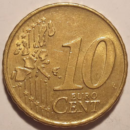 Netherlands 10 Cents 1999-2013 KM#237