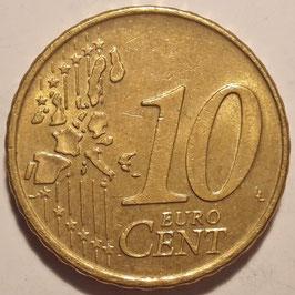 Netherlands 10 Cents 1999-2013 KM#237