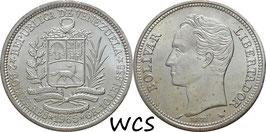 Venezuela 2 Bolivares 1965 Y#37 XF