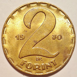 Hungary 2 Forint 1970-1989 KM#591