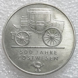GDR 5 Mark 1990 A - 500th Anniversary of the Mail Services KM#134 UNC
