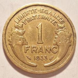 France 1 Franc 1931-1941 KM#885