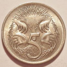 Australia 5 Cents 1966-1984 KM#64