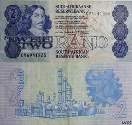 South Africa 2 Rand 1983-1990 P.118d