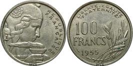 France 100 Francs 1954-1958 KM#919.1