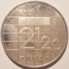 Netherlands 2½ Gulden 1982-2001 KM#206