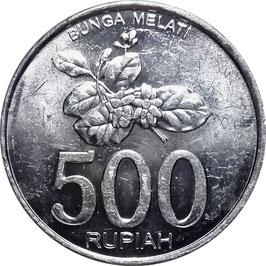 Indonesia 500 Rupiah 2003 KM#67 XF