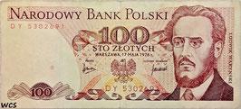 Poland 100 Zlotych 1975-1988 P.143