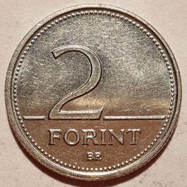 Hungary 2 Forint 1992-2008 KM#693