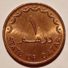 Qatar 1 Dirham 1973 KM#2 XF