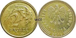 Poland 2 Grosze 2013-Date Y#924