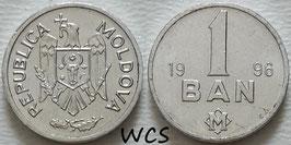 Moldova 1 Bani 1993-2020 KM#1