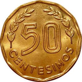 Uruguay 50 Centesimos 1981 KM#68 XF
