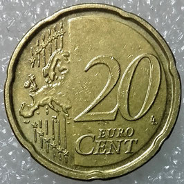 Belgium 20 Cents 2007 KM#243 VF